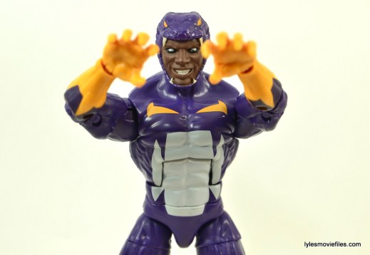 Marvel Legends Cottonmouth figure - arms out