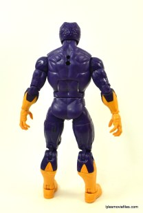 Marvel Legends Cottonmouth figure - rear