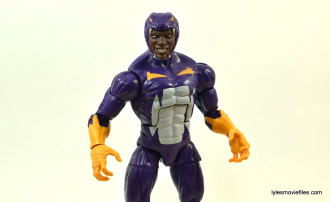 Marvel Legends Cottonmouth figure - wide shot
