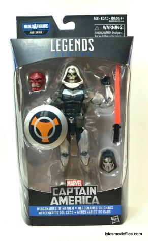 Marvel Legends Taskmaster figure - front package