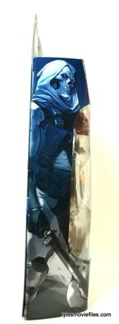 Marvel Legends Taskmaster figure - side package