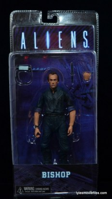 NECA Aliens Bishop - front package