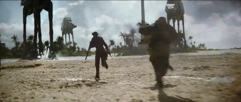 ROGUE ONE A STAR WARS STORY - vs AT ATs