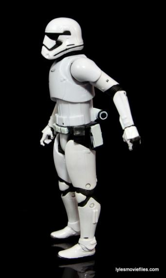 Star Wars The Force Awakens - The Black Series Stormtrooper review -left side-min