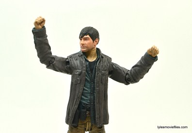 The Walking Dead Gareth figure review - arms up