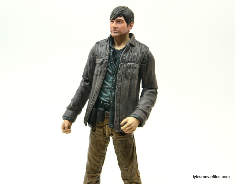 The Walking Dead Gareth figure review - closer shot