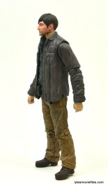 The Walking Dead Gareth figure review - left side