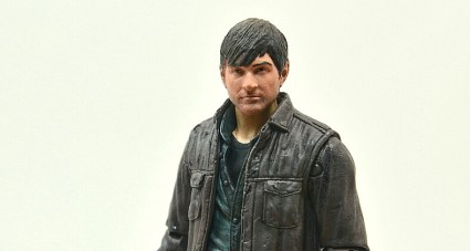 The Walking Dead Gareth figure review -wide profile - Copy