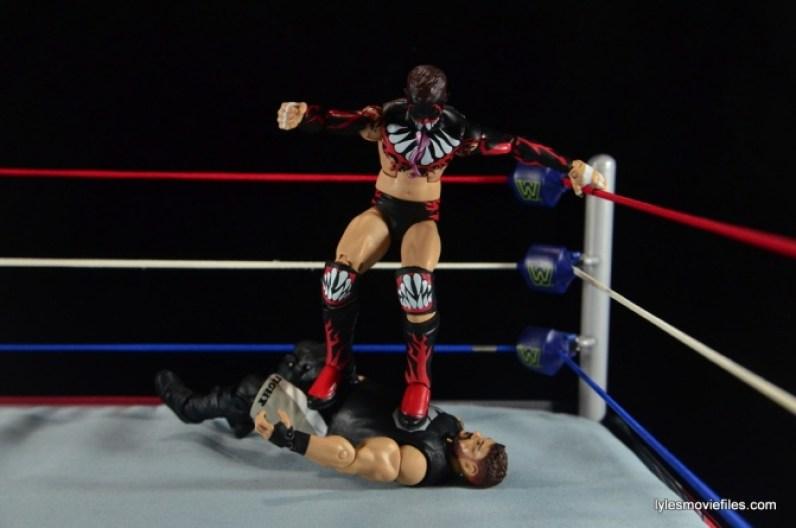 WWE Elite 41 Finn Balor -coup de grace to Kevin Owens