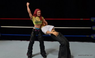 WWE Elite 41 Lita figure -Twist of Fate to Trish