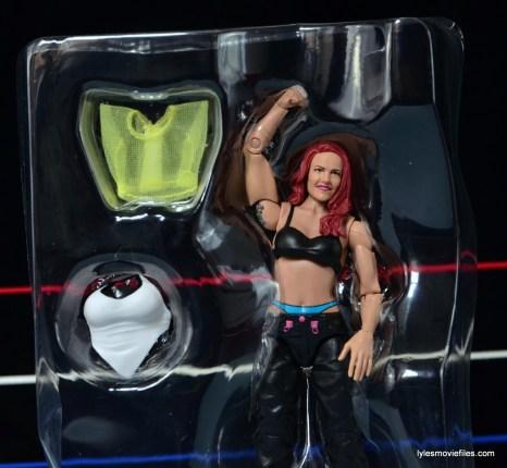 WWE Elite 41 Lita figure -accessories