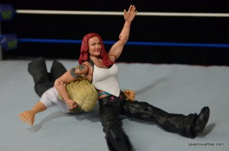 WWE Elite 41 Lita figure -bulldog to Trish
