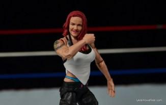 WWE Elite 41 Lita figure -fist up