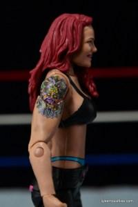 WWE Elite 41 Lita figure -tattoo detail