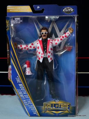 WWE Hall of Fame Jimmy Hart figure - front package-min