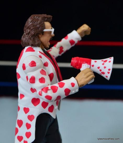 WWE Hall of Fame Jimmy Hart figure -megaphone detail-min