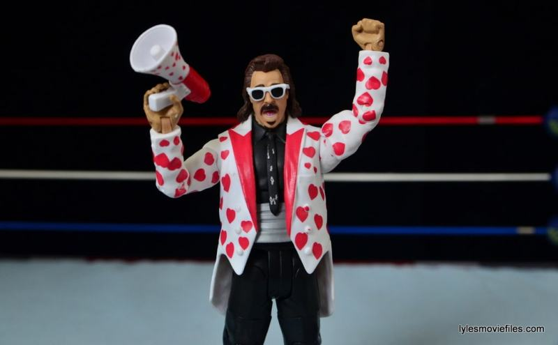 WWE Hall of Fame Jimmy Hart figure -with megaphone-min