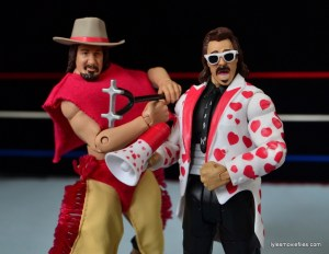 WWE Hall of Fame Jimmy Hart figure -with terry Funk