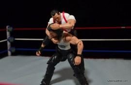 WWE IRS Mattel Elite figure review -sleeper hold to Diesel