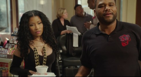 barbershop the next cut - nicki minaj and anthony anderson