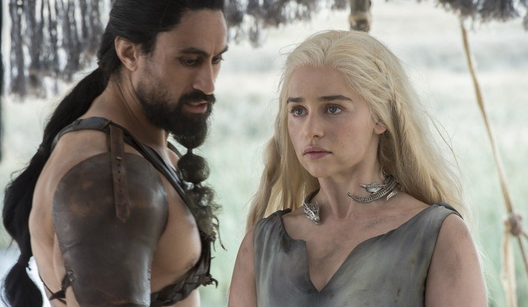 game of thrones the red woman - khal moro and daenerys