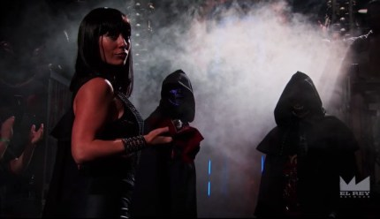 lucha underground - catrina and disciples of death