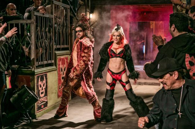 lucha underground - johnny mundo and taya