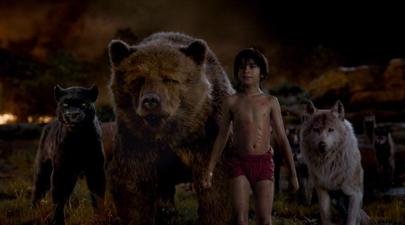 the jungle book review - Mowgli-min