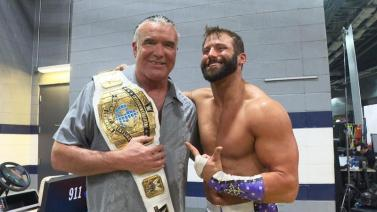 wrestlemania 32 - zack ryder with razor ramon