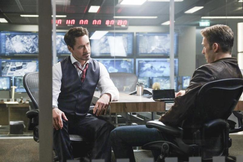 Captain America Civil War pictures -Tony Stark and Steve Rogers