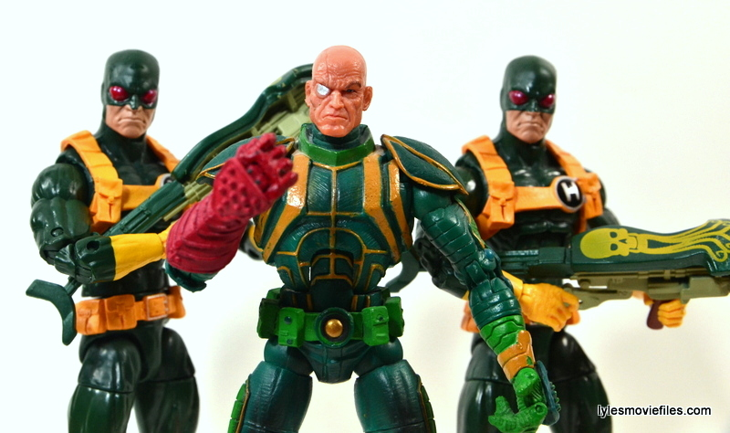 Captain America Hydra Soldier - Baron Von Strucker with Hydra soldiers