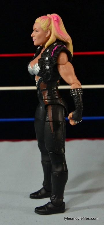 WWE Natalya figure review - left side