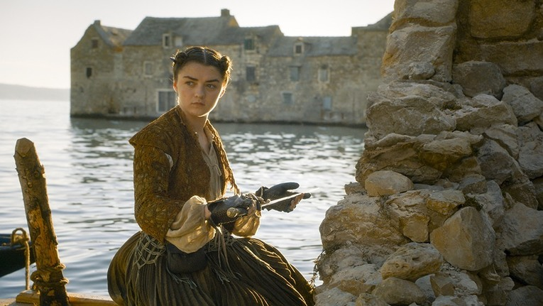 game of thrones blood of my blood - arya stark