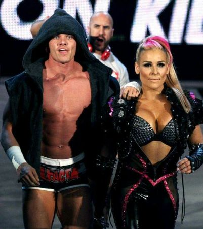 wwe natalya likeness with cesaro and tyson kidd