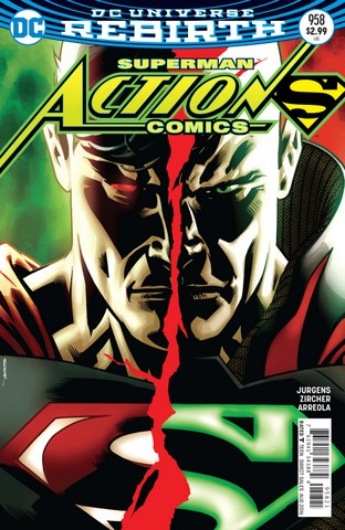 Action Comics issue variant cover