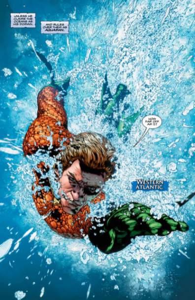 Aquaman Rebirth 1 page 2