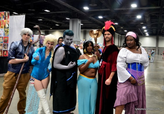Awesome Con 2016 cosplay - Disney cosplay group