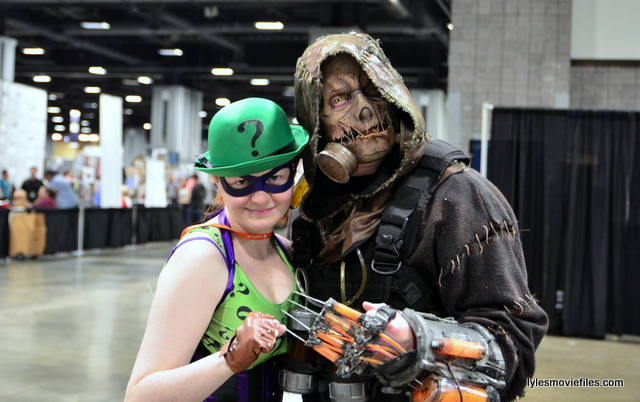 Awesome Con 2016 cosplay - Riddler and Scarecrow