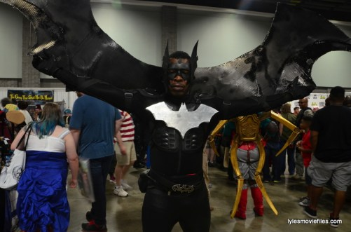 Awesome Con cosplay Day 2 -Batwing