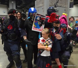 Awesome Con cosplay Day 2 -Cobra Commander campaign