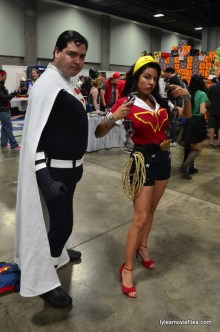 Awesome Con cosplay Day 2 - Ema Griffin and Chicago Superman