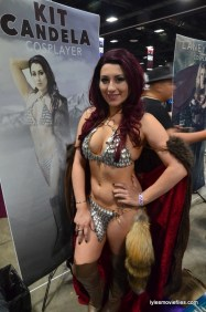 Awesome Con cosplay Day 2 -Kit Candela as Red Sonja