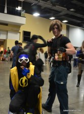 Awesome Con cosplay Day 2 -Static Shock and Leon Resident Evil