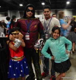 Awesome Con cosplay Day 2 -Wonder Woman, Robin and Vanellope