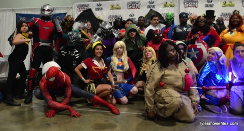 Awesome Con cosplay Day 2 -group cosplay left side