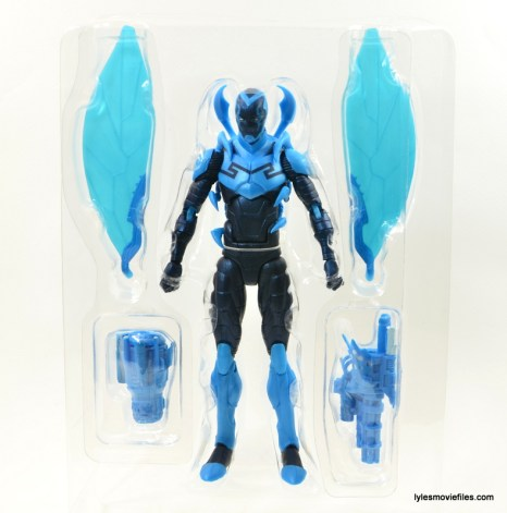 DC Icons Blue Beetle figure review -accessories