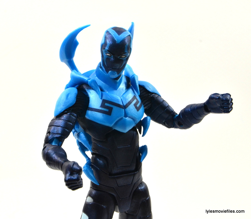 DC Icons Blue Beetle figure review -pivot