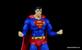 DC Icons Superman figure review - flexing