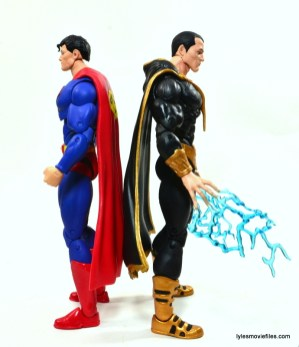 DC Icons Superman figure review - scale to Black Adam