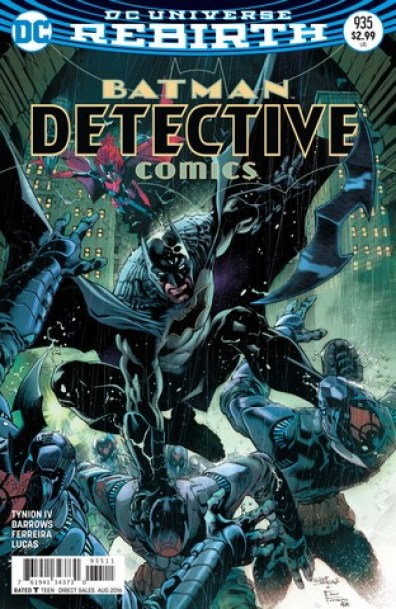 Detective Comics issue 935 regular cover